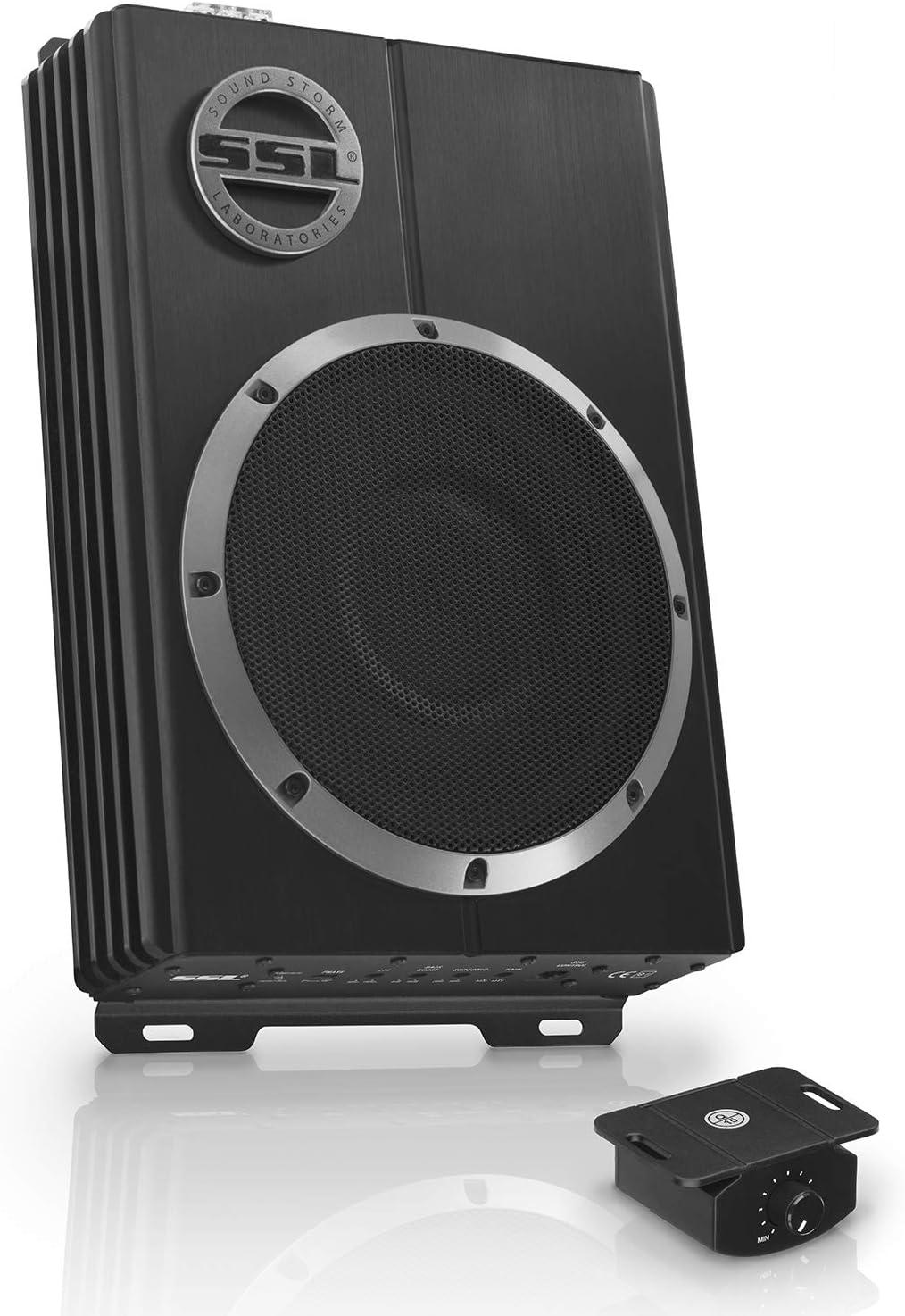 Sound Storm Laboratories Lopro8 Soundstorm Low Profile 8 Inch 600 W Amplified Subwoofer