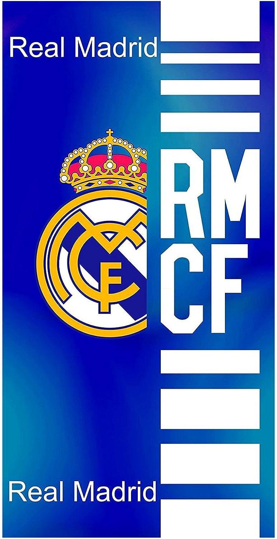 Real Madrid Toalla de Baño y Playa de Algodón con licencia Oficial. RM14: Amazon.es: Bebé