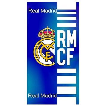 Real Madrid Toalla de Baño y Playa de Algodón con licencia Oficial. RM14: Amazon.es: Deportes y aire libre