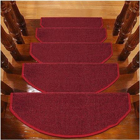 Alfombras de Escalera Alfombrillas para Escalón Tapetes Cojines Piso Mat Alfombras para Escaleras Antideslizantes Y Adhesivas 6mm 5 Tamaño (Color : E, Size : 15PCS 24X90CM): Amazon.es: Hogar