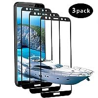 [3 Pack] Huawei Mate 10 Lite Vetro Temperato, Vivicool Pellicola Protettiva per Huawei Mate 10 Lite, 3d copertura completa/Durezza 9H/Anti Graffi Pellicola Mate 10 Lite