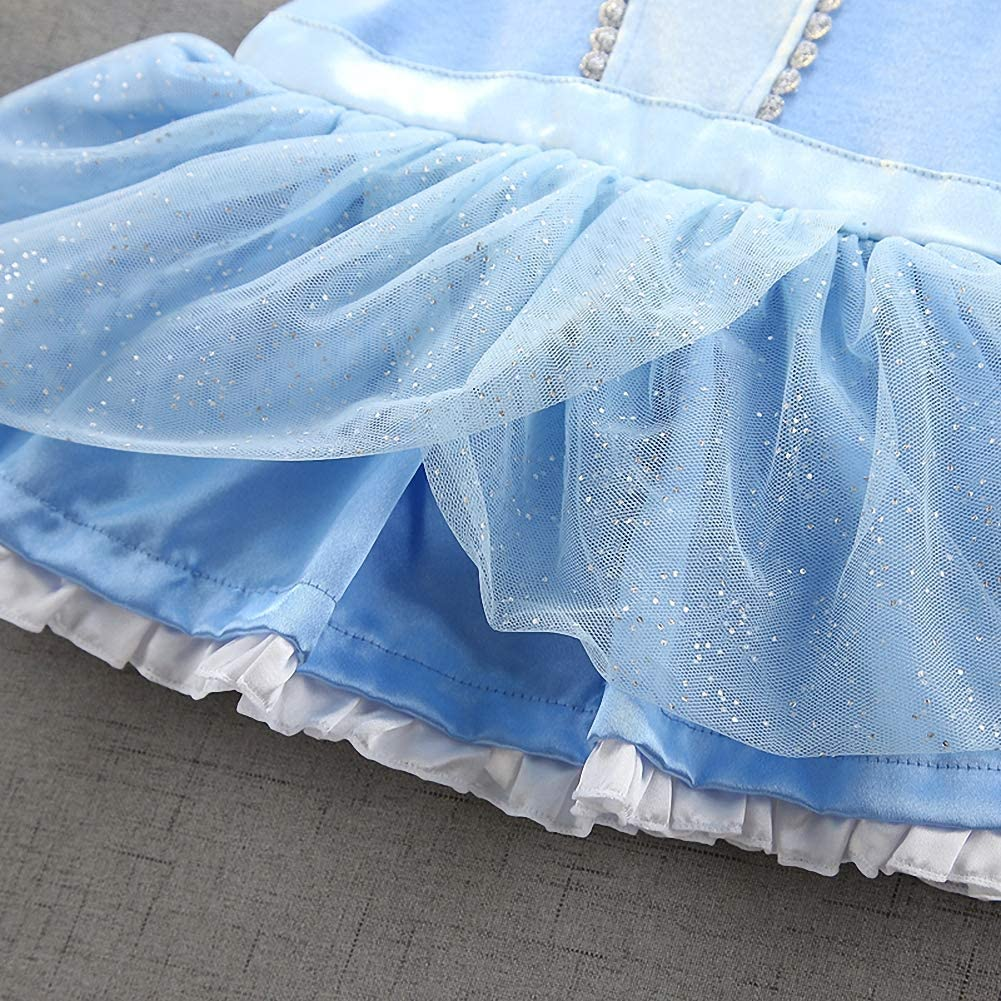 Dressy Daisy Baby Girls Princess Onesie Costume Bodysuit Romper Halloween Costume