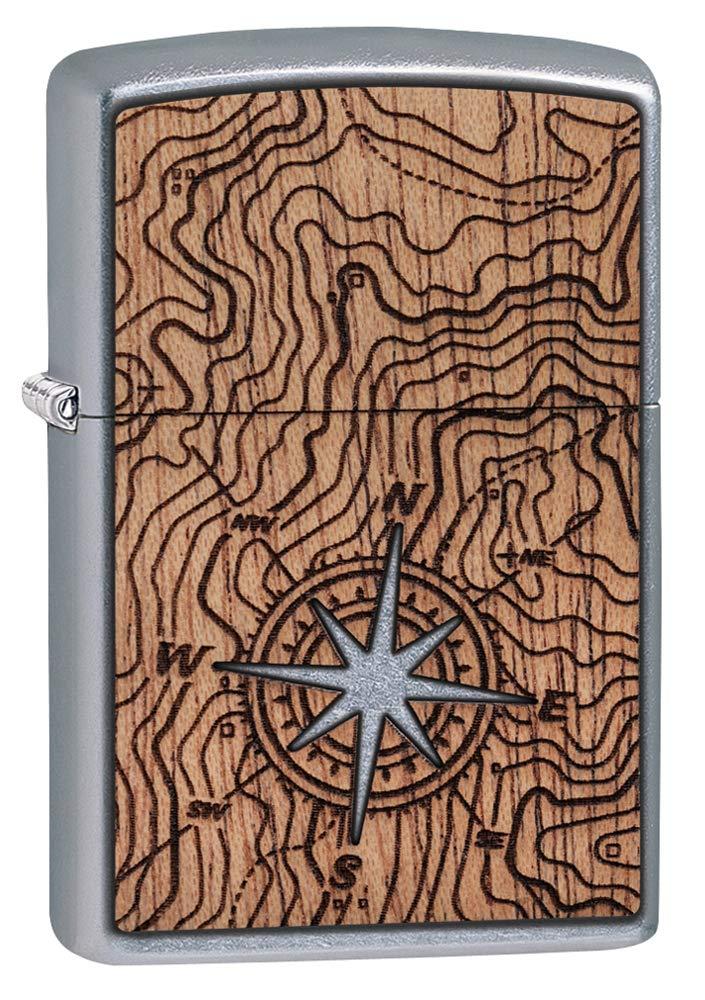 Zippo Woodchuck USA Compass Pocket Lighter