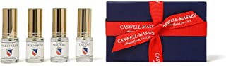 product image for Caswell-Massey Men's Cologne Sampler Gift Set - Travel Size Fragrances in Newport, Greenbriar, Jockey Club and Tricorn Scents: Heritage Sampler, 15 ml Each (Set of 4)