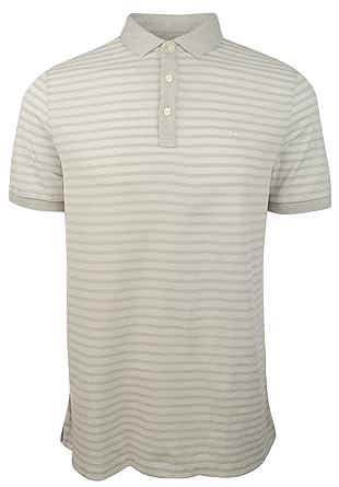 b75c26fb Michael Kors Men's Striped Pique Polo Shirt at Amazon Men's Clothing store: