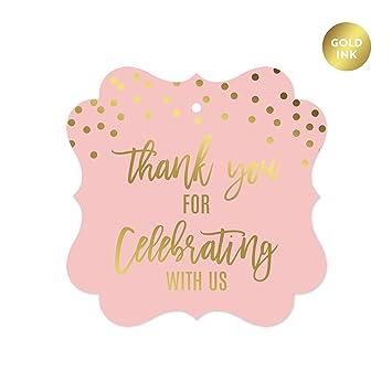 Amazon Andaz Press Blush Pink And Metallic Gold Confetti Polka