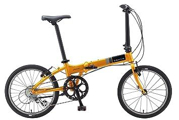 Dahon vitesse D8 plegable bicicletas, color amarillo, tamaño unisex
