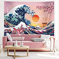 Ocean Wave Tapestry, Sunset Tapestry Wall Hanging Tapestry, Wall Art And Room Decor Voor Slaapkamer, Woonkamer,150…
