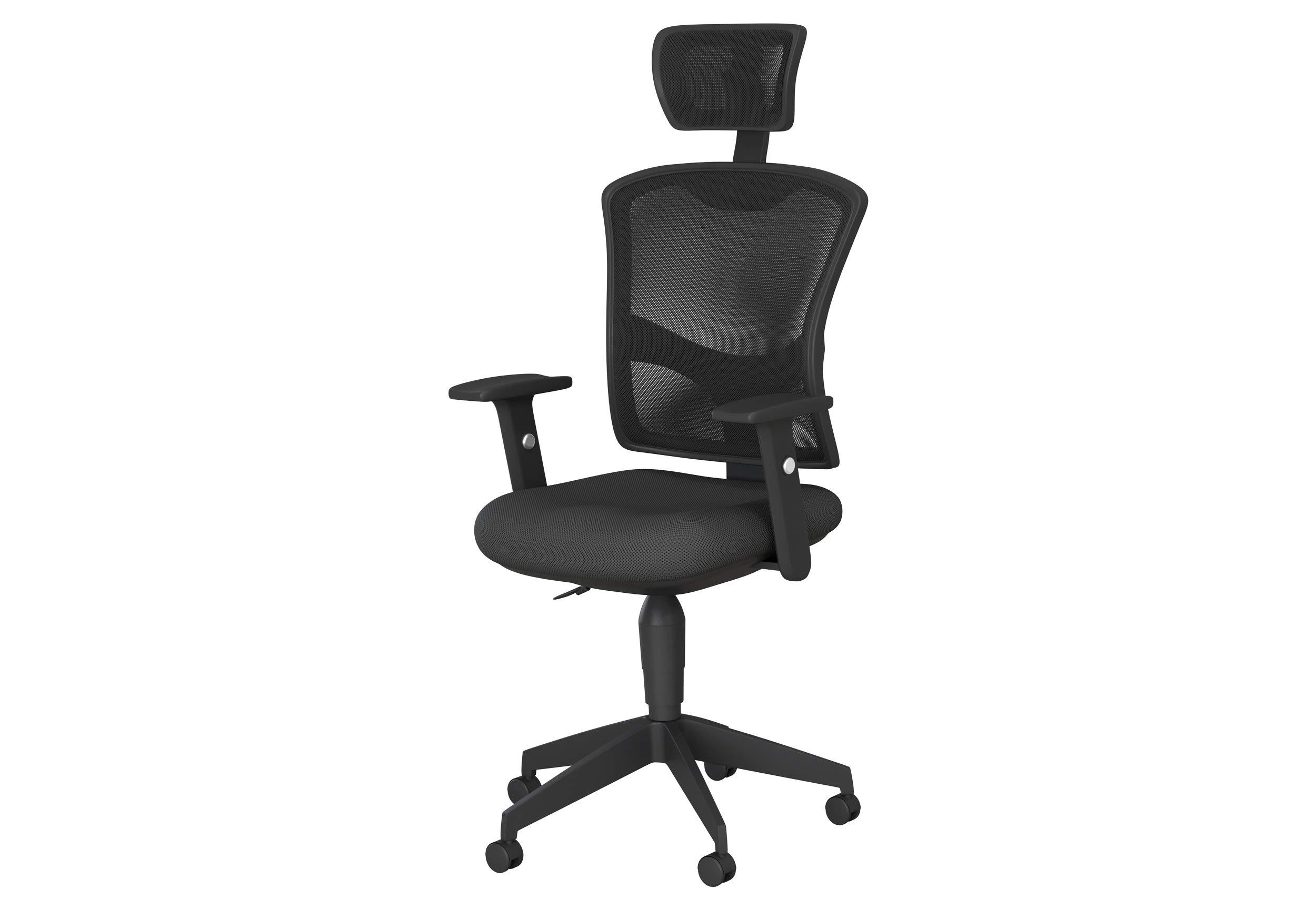 Safdie & Co. Ergonomic Office Home Chair, Black