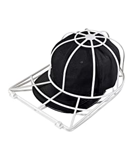 Ahahute Baseball Cap Cleaning Storage Bag, Hat Rack or Cover Bracket, Cover Shape Protective Film, Can Be Washed in Washing Machine or Dishwasher