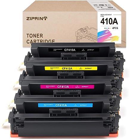 2 pk CF410A Toner for HP Color Pro M452nw M452dw MFP M477fnw Printer USA SELLER!
