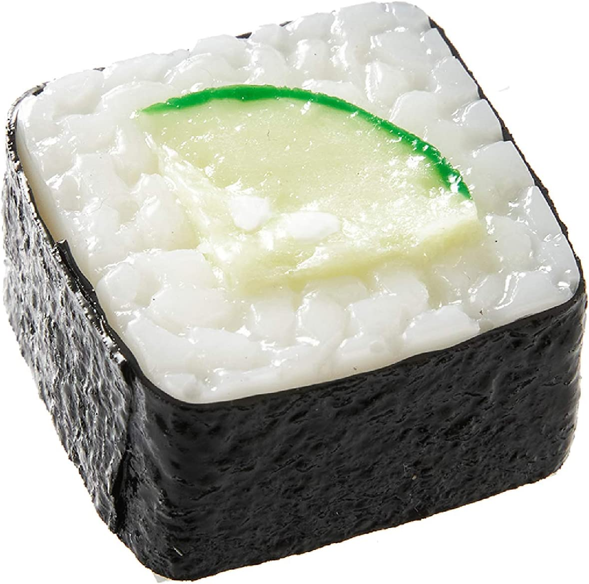 Sushi Magnet (1 pack: Cucumber Roll) Realistic, food replicas made by the experts/ A great gift for people who like sushi and novelty/ For refrigerators, whiteboards/ 20 kinds in total