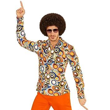 Amakando Schlagermove Herrenhemd S M 48 50 Hippie Outfit 60er