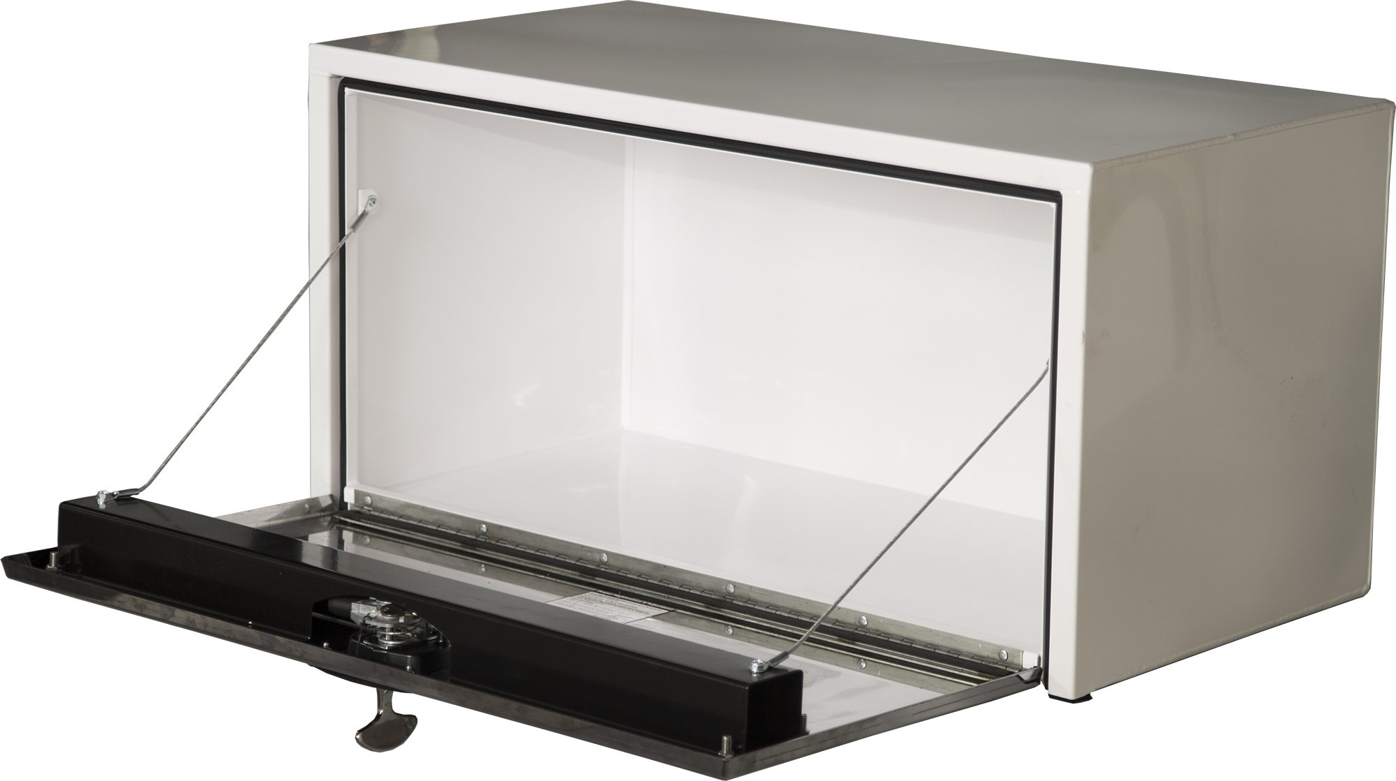 Buyers Products White Steel Underbody Truck Box w/Stainless Steel Door (18x18x48 Inch) by Buyers Products (Image #2)