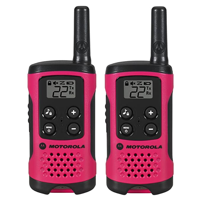Motorola T107 Talkabout Radio, 2 Pack