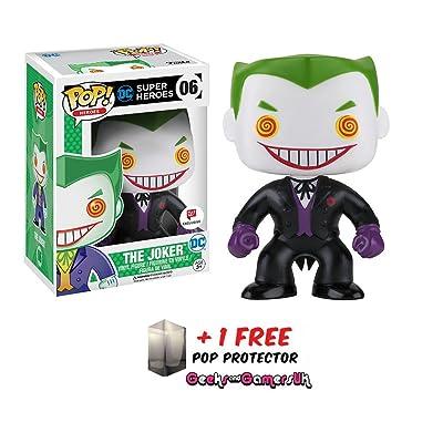 Funko Pop DC Super Heroes Black Suit Joker #06 Walgreens Exclusive: Toys & Games