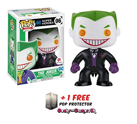 Funko 599386031 - Figura DC - Joker Black Suited: Amazon.es ...