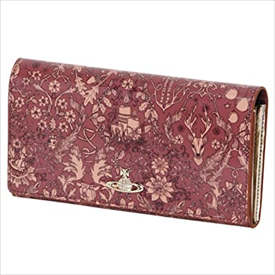 306b2e73ace9 ヴィヴィアンウエストウッド Vivienne Westwood 財布 長財布 ディアスポラ レディース かぶせ 長札入 (ワイン