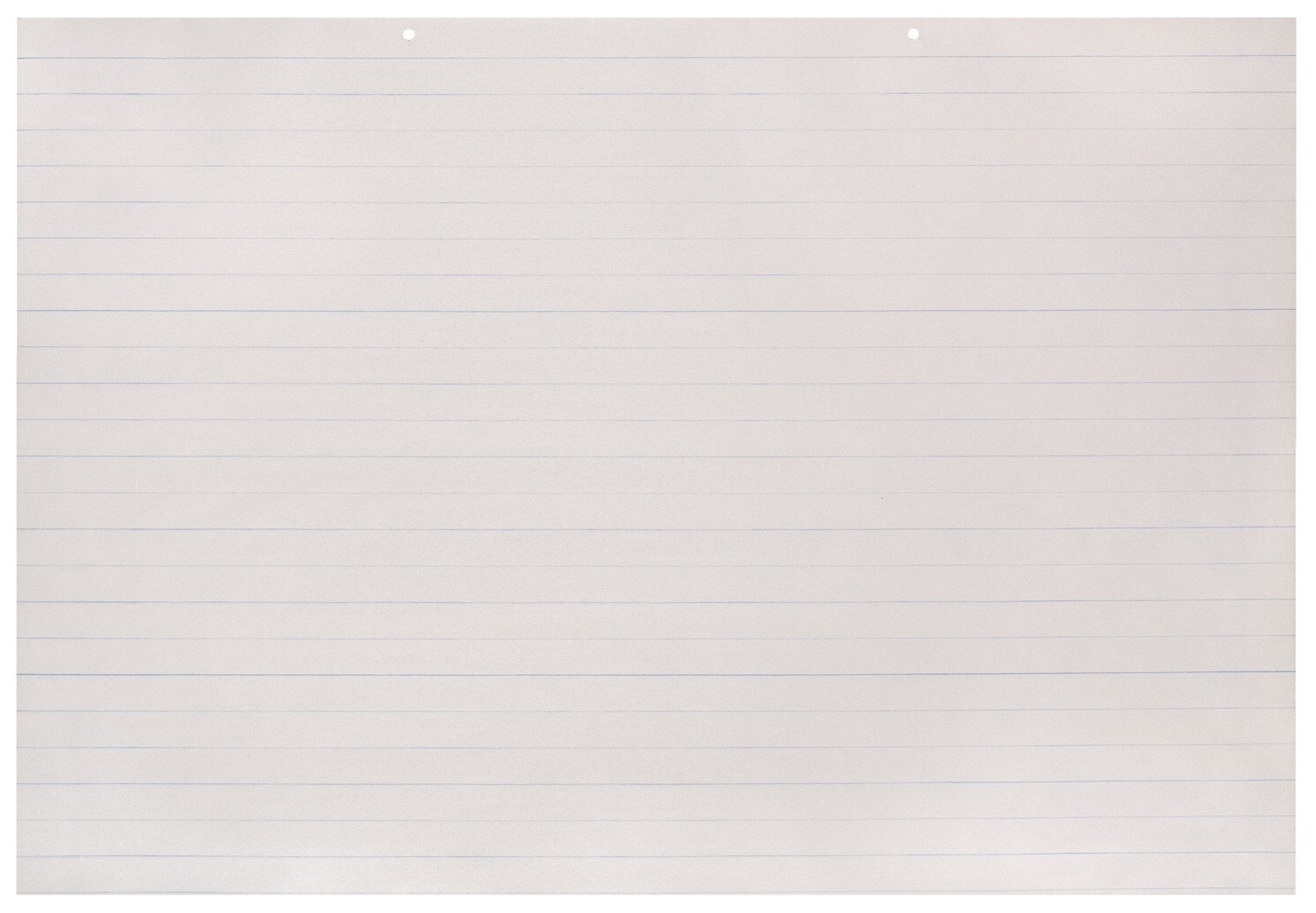 School Smart Primary Chart Newsprint Paper, 1 Inch Rule, 36 x 24 Inches, 100 Sheets