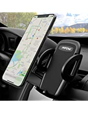 Mpow Car Mount, Universal Air Vent Phone Holder Adjustable Car Cradle With One Button Release and 360 Degrees Ratation for iPhone Xs MAX/XS/XR/X/8s/8/7/6 Plus,Samsung Galaxy S9/S8/S7,Huawei P20,etc