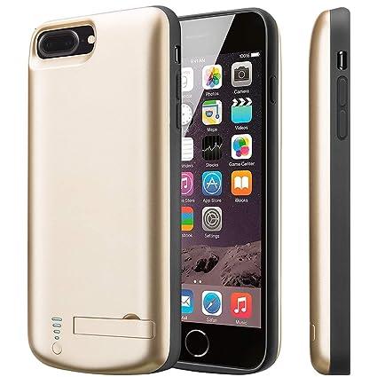 Amazon.com: Carcasa de batería para iPhone X, Cofuture 5000 ...