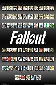 "Trends International Fallout 4 Emoji's Wall Poster 22.375"" x 34"""