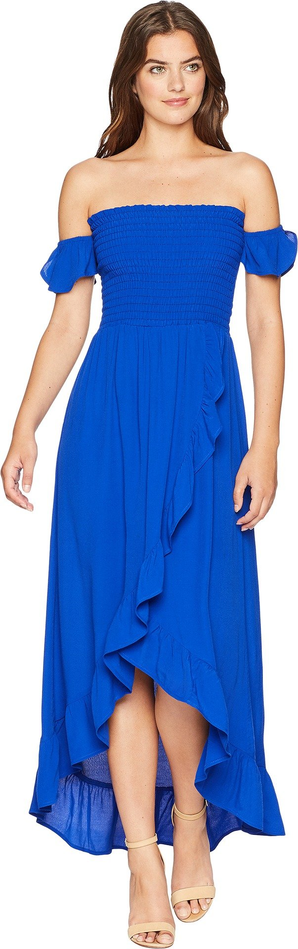 Lucy Love Women's Wild Hearts Dress Royal Blue Small