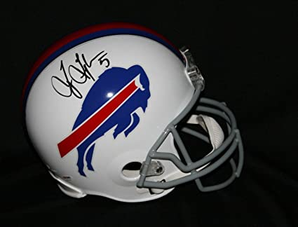 f4870d5cd3d Amazon.com  Tyrod Taylor Signed Helmet - Full Size - PSA DNA ...