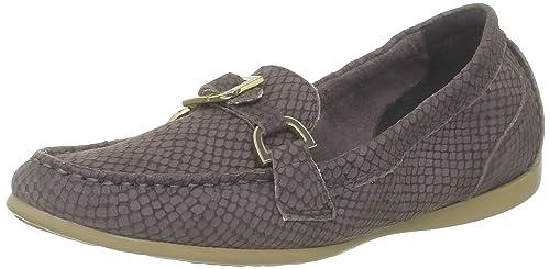 Rockport Demisa Enamel Moc, Mocasines para Mujer, Marrón (Braun (Sparrow), 38 EU: Amazon.es: Zapatos y complementos