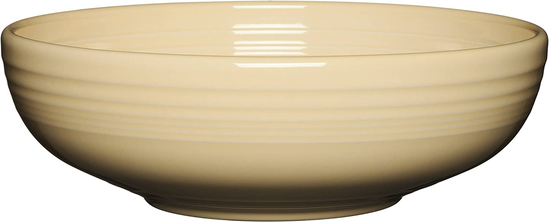 Fiesta Medium  Bistro Bowl in daffodil  NEW Never Used Fiestaware