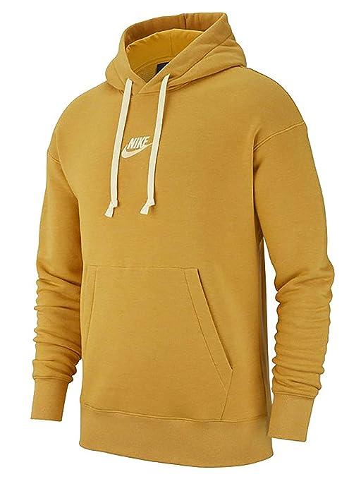 Nike 928437 Sudadera con Capucha Mangas largas, Hombre, Dart Gold-htr-Vela