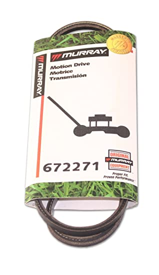 Murray 672271ma Motion Drive Belt For Lawn Mowers, New,  : Amazon co