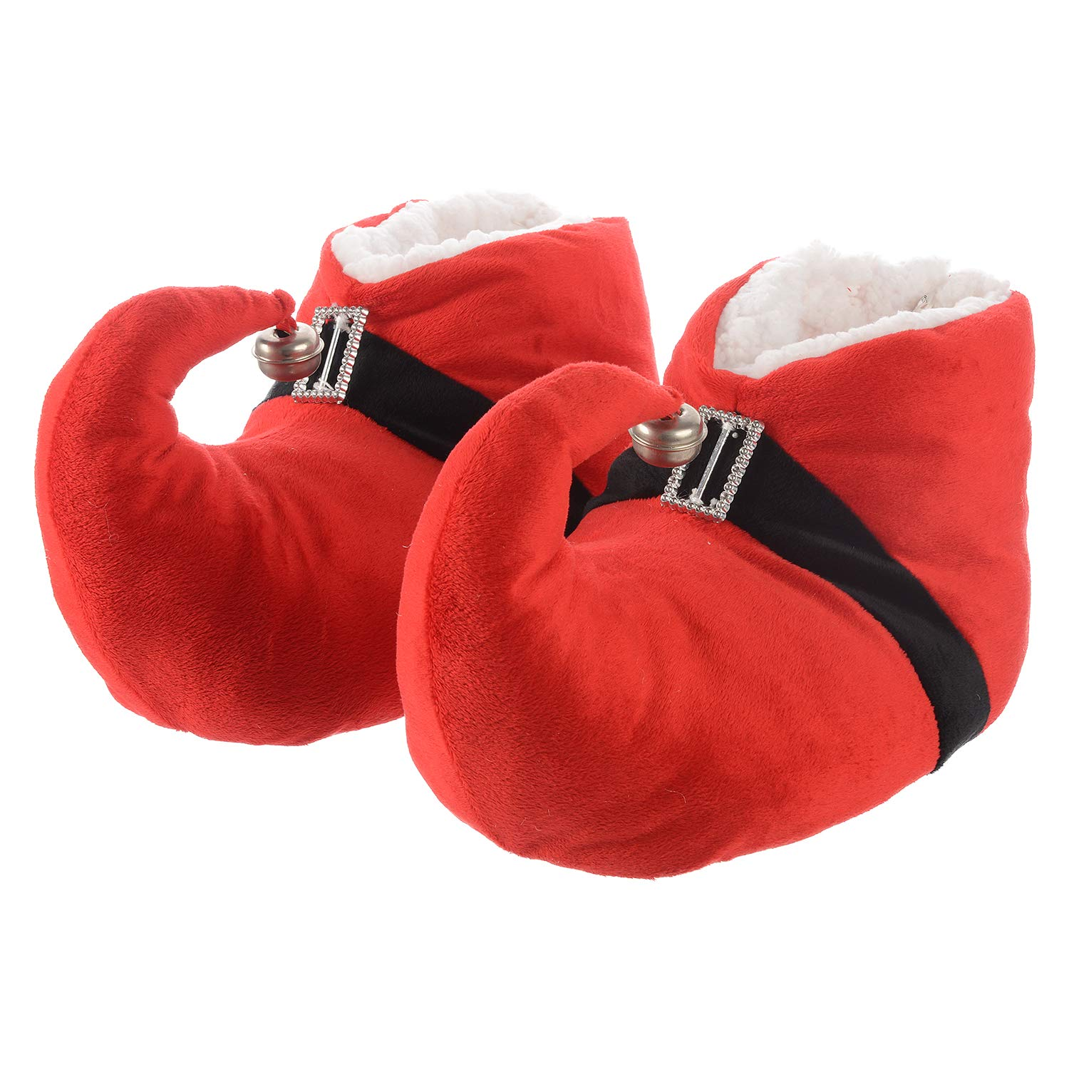 KushyShoo Christmas Slippers Fluffy Cozy Memory Foam Shoes, Warm Anti-Slip Cotton Animal House Slippers Winter Adults ASC1