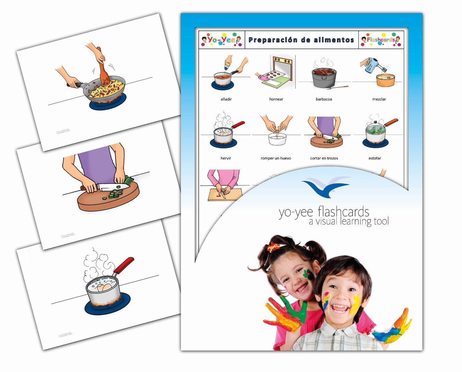 Amazon.com: Spanish Speaker Flash Cards Kit for Teachers - Palabras e imagenes - Español para niños - Perfect for kids, children, adults, autism or speech ...
