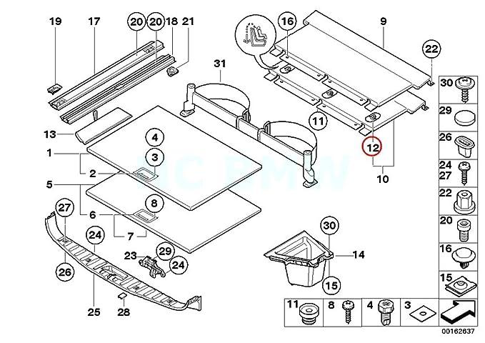 E90 Bumper Guide