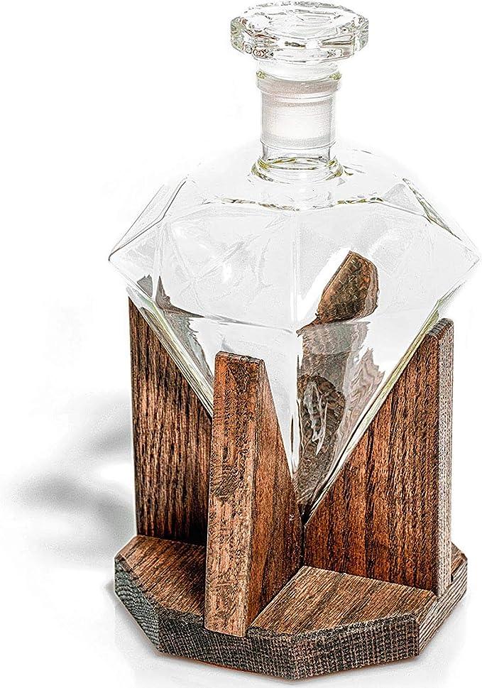 Whisky Decanter, Botella 1000 Ml De Diamante De Cristal, Ron ...