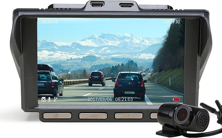 Z Edge S4 Dual Dashcam 10 2 Cm Ips Ultra Hd 1440p Front Elektronik