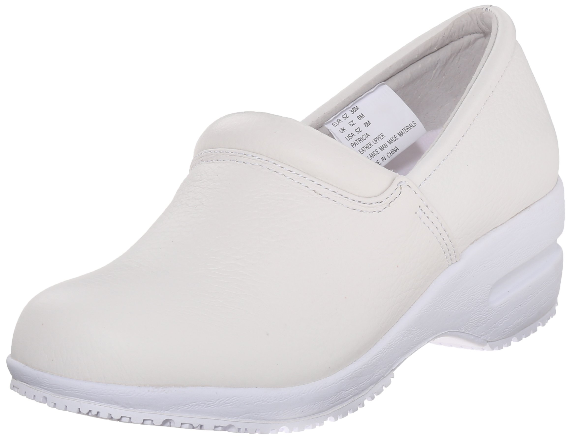 Cherokee Women's Patricia Work Shoe, White, 6.5 M US