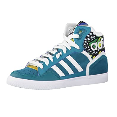 sports shoes 9f40e a6a23 adidas Originals Extaball W D65378 Baskets pour Femme - - Power Teal White,  40