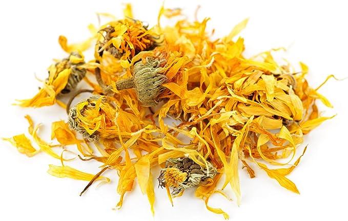 Infusion de thé en vrac de fleurs de calendula séchées ...