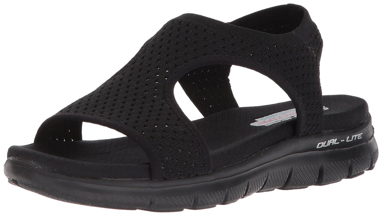 c01ea130d831c Details about Skechers Cali Women's Flex Appeal 2.0-Deja Vu Sport Sandal