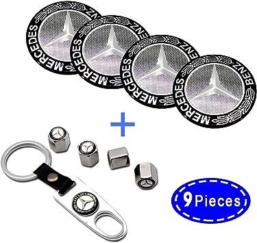 4pcs 56mm Toyota Stickers Car Steering Wheel Center Hub Cap Emblem Badge Decal Black