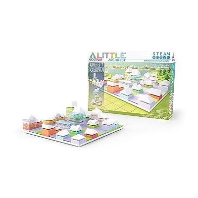 Arckit Architectural Model Building Kit: Little Architect - 130 Pieces: Toys & Games