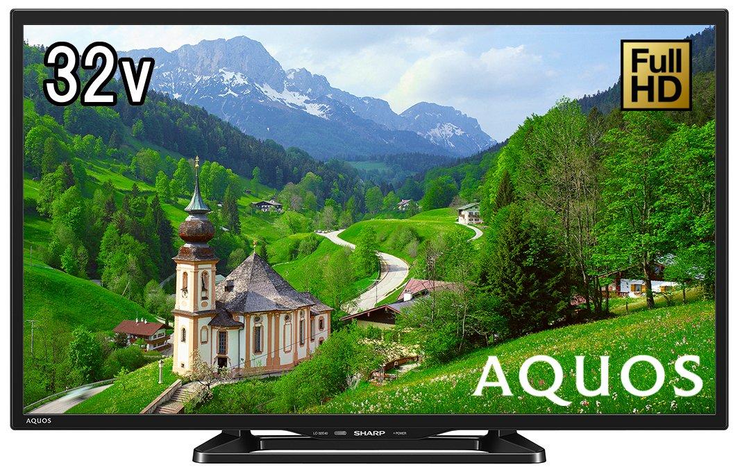 6位.SHARP AQUOS 32V型液晶テレビ LC-32E40
