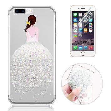 coque iphone 8 plus diamant blanc