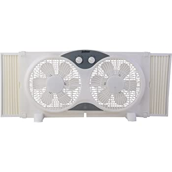 Amazon Com Bionaire Bwf0522e Bu Thin Window Fan With