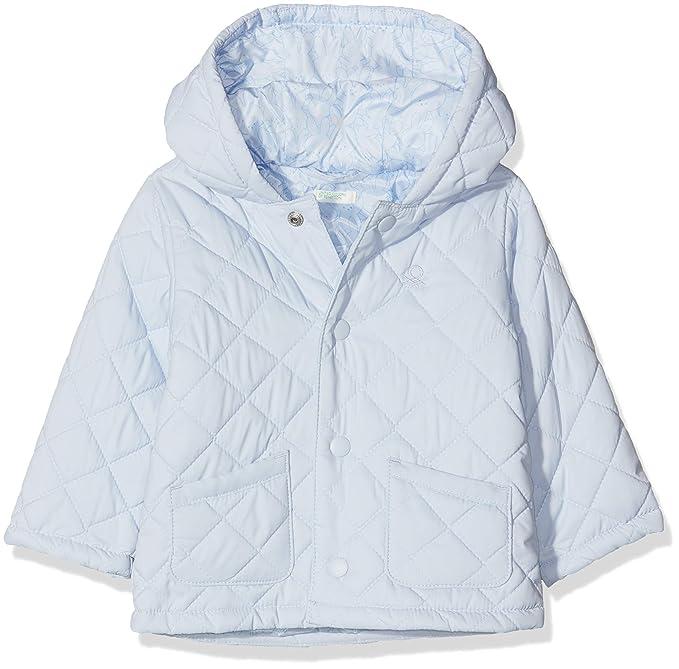 United Colors of Benetton Bebé-Niños Jacket Abrigo Not Applicable, Azul (Celeste 081