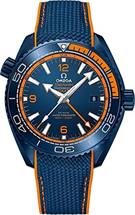 Amazon.com  Omega Seamaster Planet Ocean Big Blue Men s Watch 215.92 ... 1444e314e720