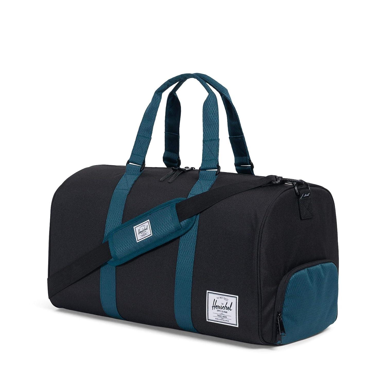 Black//Deep Teal One Size Herschel Novel Duffel Bag