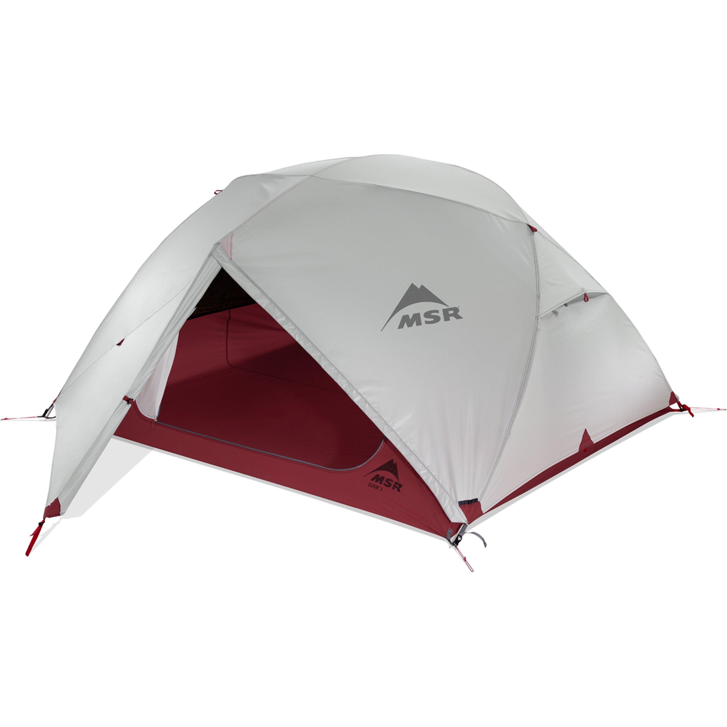 MSR Elixir 3 Backpacking Tent, Red by MSR (Image #3)
